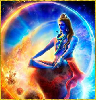 Blue Shiva