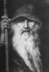 Odin by Georg von Rosen