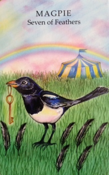Magpie Seven of Feathers