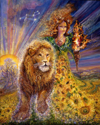Leo by Josephine Wall